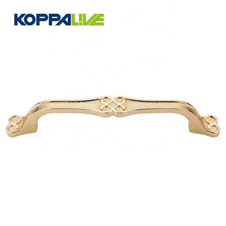 Popular furniture wardrobe hardware accessories custom modern zinc alloy kitchen cabinet door handle
