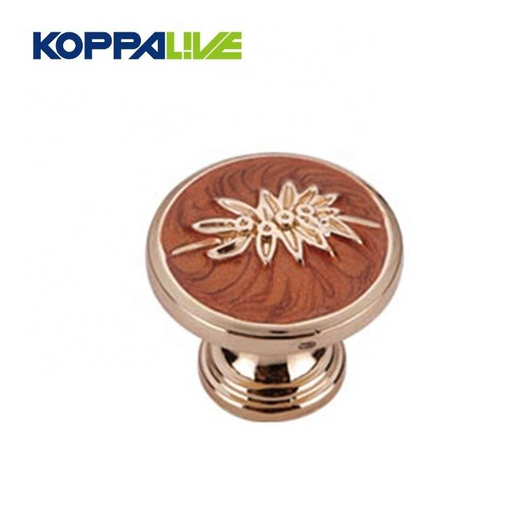 KOPPALIVE Zinc Alloy Kitchen Cabinets Drawer Furniture Accessories Hardware Mushroom Round Pulls Knob