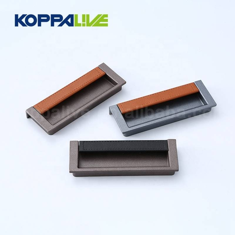 KOPPALIVE Bedroom kitchen cabinet cupboard hidden recessed sliding door handles