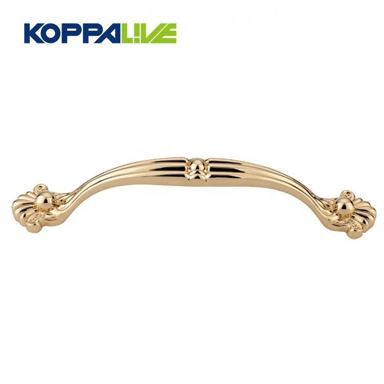 KOPPALIVE bedroom cupboard furniture hardware accessories zinc alloy cabinet drawer pull handles