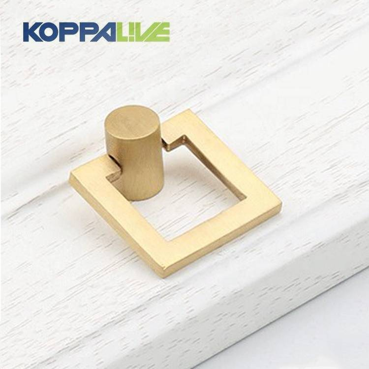 2020 Copper Furniture Hardware Brass Drawer Cabinet Door Knocker Pull Handles