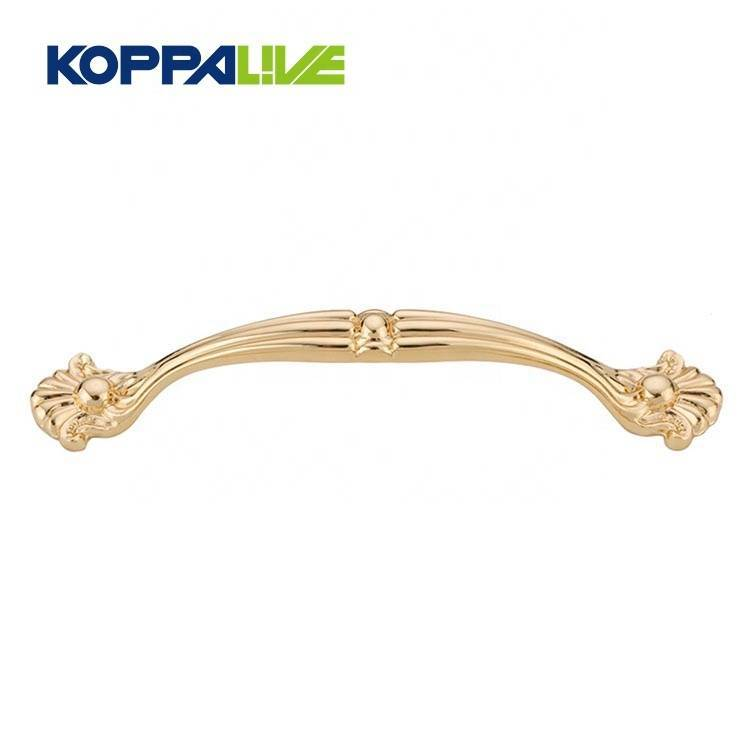 Creative Design Modern Furniture Hardware Brass Kitchen Cupboard Door Pull Handle