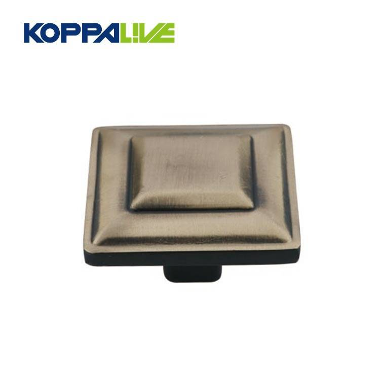 Short Lead Time for Cabinet Knob Backplates - Metal Round Bronze Color Drawer Knob Vintage Drawer Door Cupboard Pull Knob For Kitchen Bathroom Home Accessories – Zhangshiwujin