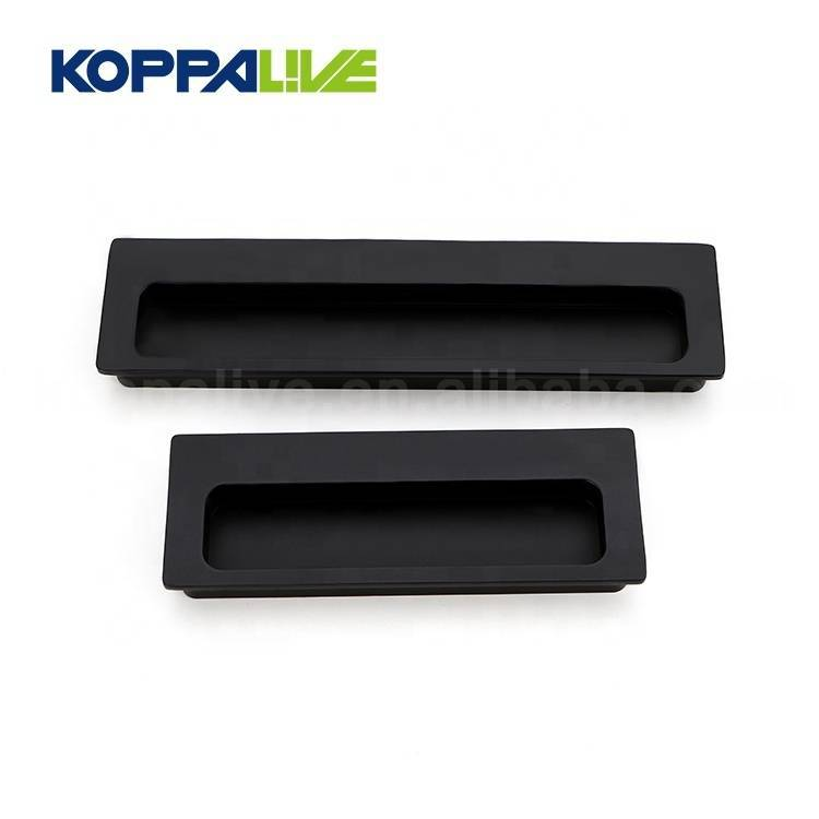 Square Cupboard Handle Pulls Hidden Furniture Door Handles Sliding Pull