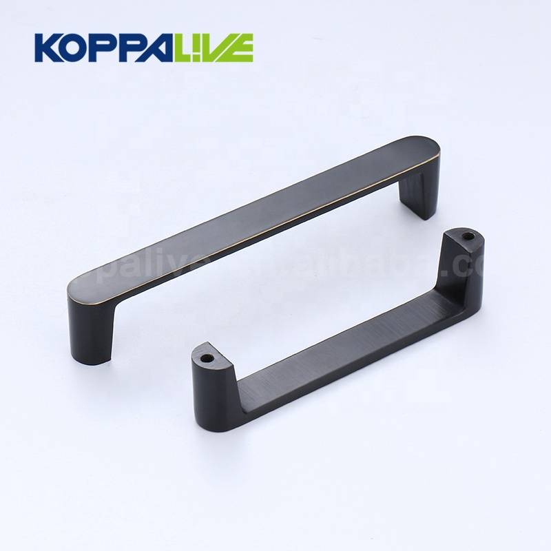 KOPPALIVE modern design cupboard hardware furniture hadles brass kitchen cabinet door pull handle