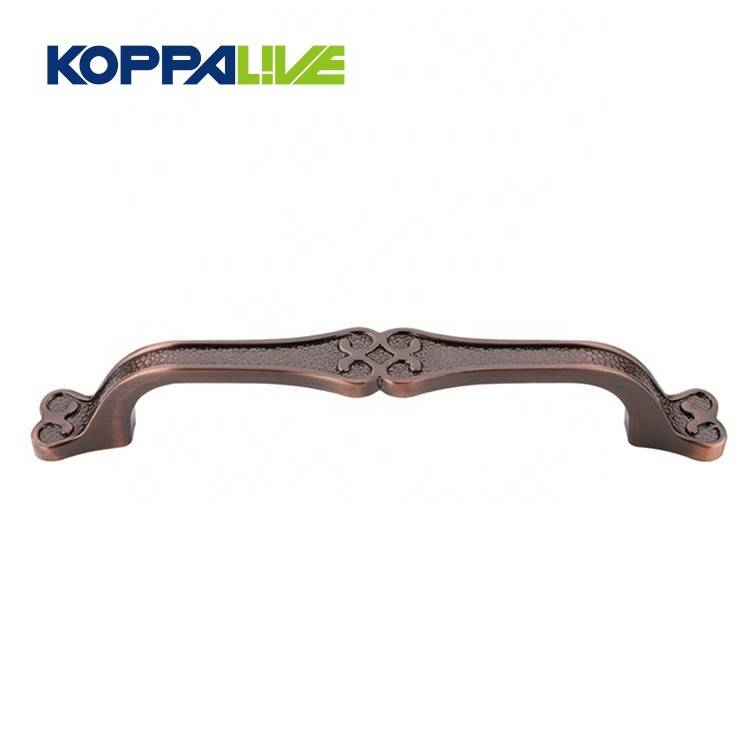 KOPPALIVE zinc alloy antique bronze small cabinet cupboard pulls handle for bedroom furniture hardware
