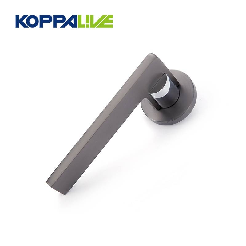 KOPPALIVE Furniture Hardware Set Zinc Alloy Bedroom Door Handle Entry Entrance Lever Door Handle