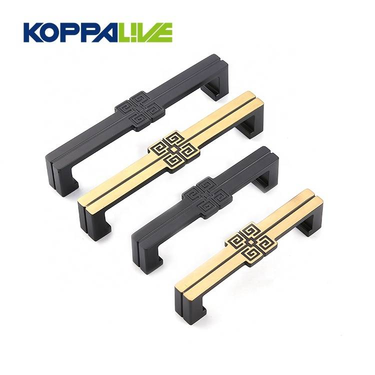Customized simple modern design bedroom furniture zinc alloy kitchen cabinet pull handles
