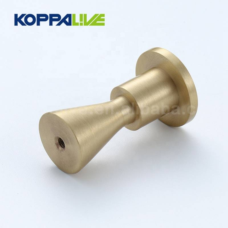 KOPPALIVE Luxury Original Design Solid Brass Coat Hook Wall Hanger Home Decor Wall Mount Clothes Hook
