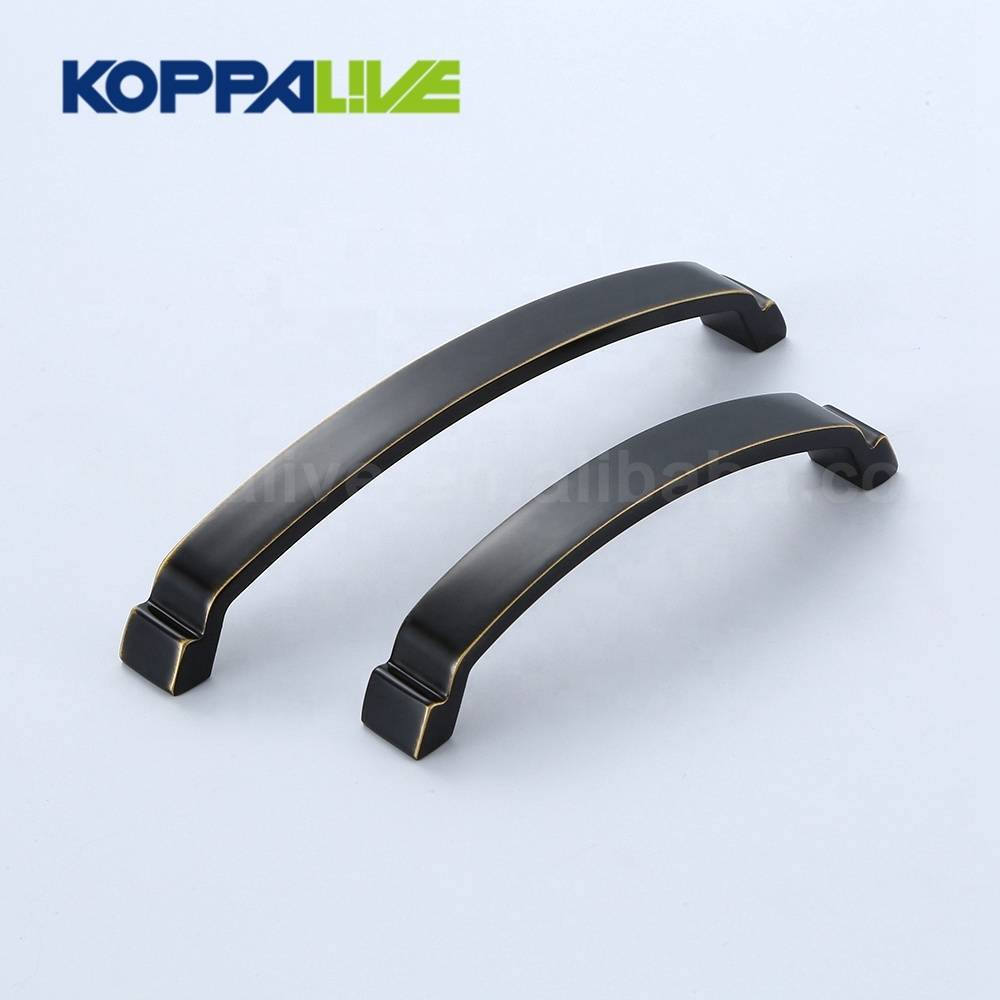 High grade design brushed brass hardware furniture cupboard door pull handles for drawer cabinet