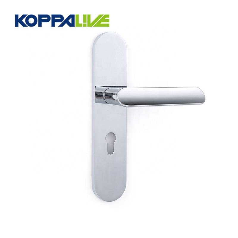 KOPPALIVE High quality simple style interior door zinc alloy lever locks handle