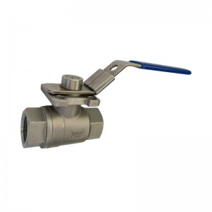 2PC Ball Valve with ISO 5211 Mounting Pad B201M