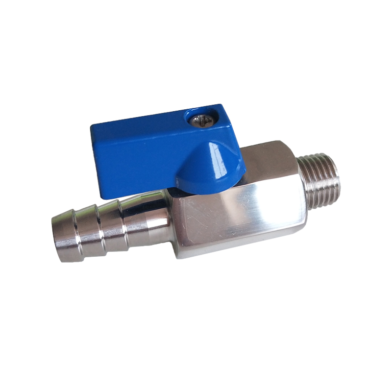 MINI Ball Valve M/Hose Nipple B141S Featured Image