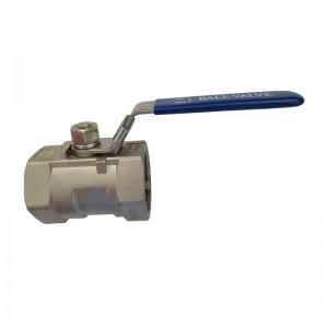 Factory Free sample Industrial Ball Valve - 1PC Ball Valve B101 – Kuntai