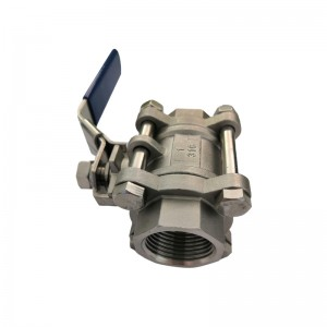 3PC Ball Valve with Screwed End B301