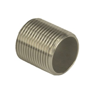 Good quality Stainless Steel Threaded Fittings - Parrel Nipple – Kuntai