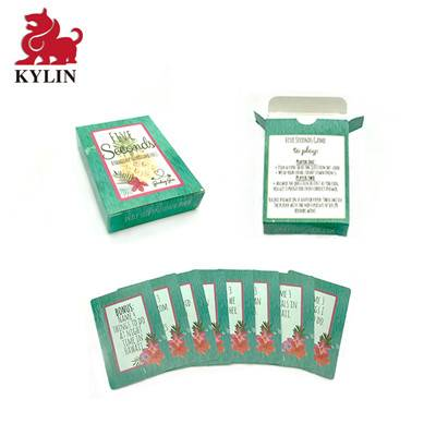 B-002 board game supplier custom card game card printing  card deck design