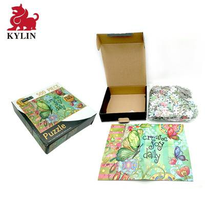 B-017 board game publishers custom board game puzzle with gift box wholesale