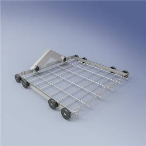 Lower level basket frame Used for insert injecting modules FA-Z02