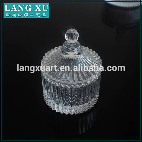 LXHY-T001 yurt shape european crystal mini wedding favor candy jar