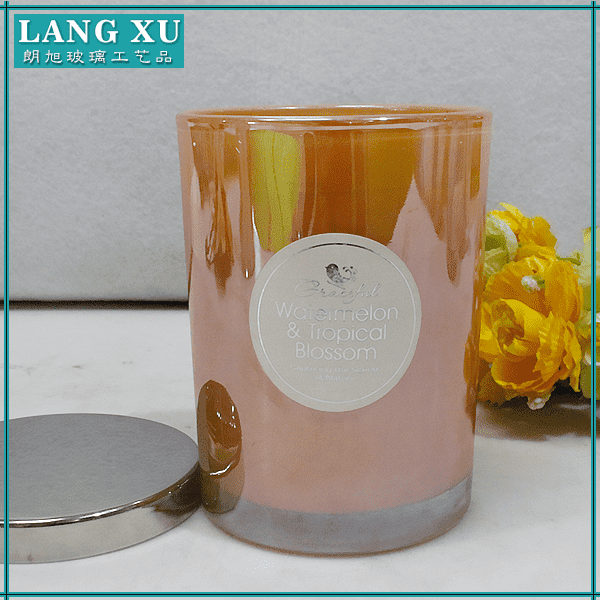 large capacity popular product personalized luxury candles scented candle with gift set