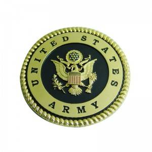 Painted lapel pin