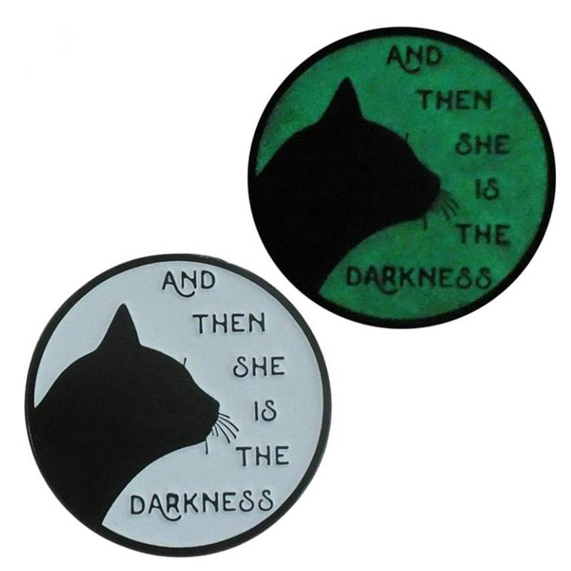 Glow in the Dark Lapel Pins