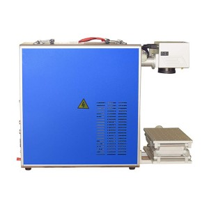 30W Integrated Fiber Laser Marking Machine with Raycus Laser FDA