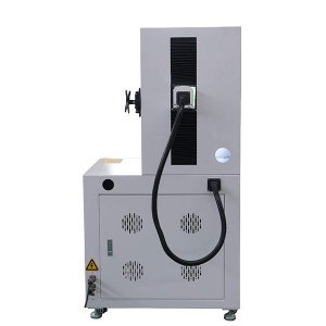 Max 20W Full Cover Fiber Laser Marking Machine For Metal Engraving