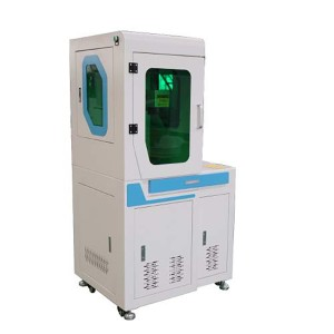 Max 30W Full Cover Fiber Laser Marking Machine For Metal Engraving