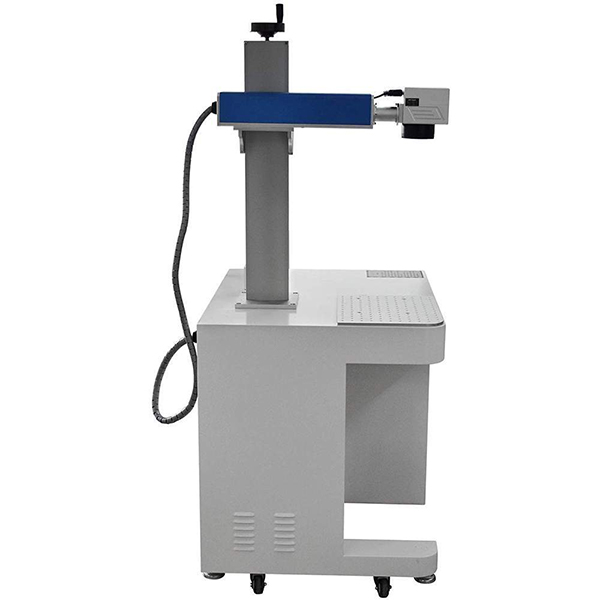 50W Raycus Divided Fiber Laser Marking Machine EZ Cad FDA For Metal Featured Image