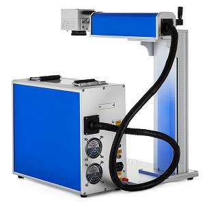 30W Raycus Divided Fiber Laser Marking Machine EZ Cad FDA For Metal