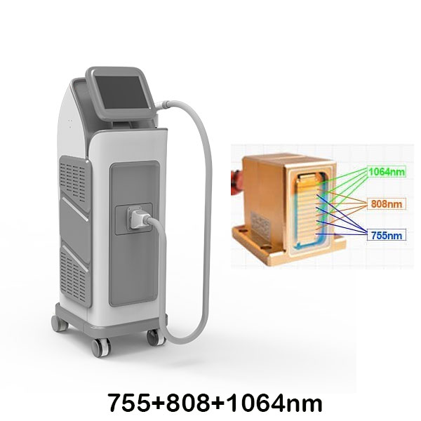 Best price 755+808+1064 diode laser hair removal machine for salon Featured Image