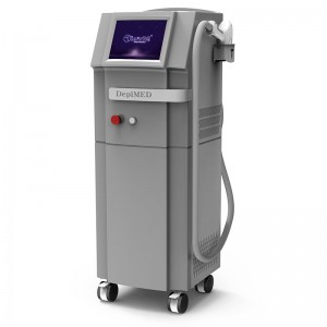 Newest Germany bars epilation portable permanent alexandrite 808nm diodes laser hair removal machine price saloon