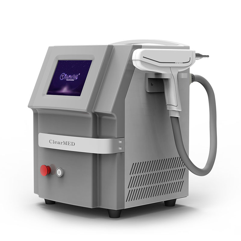 Double rods double lamps 10645321320 q switch nd yag laser tattoo removal machine Featured Image