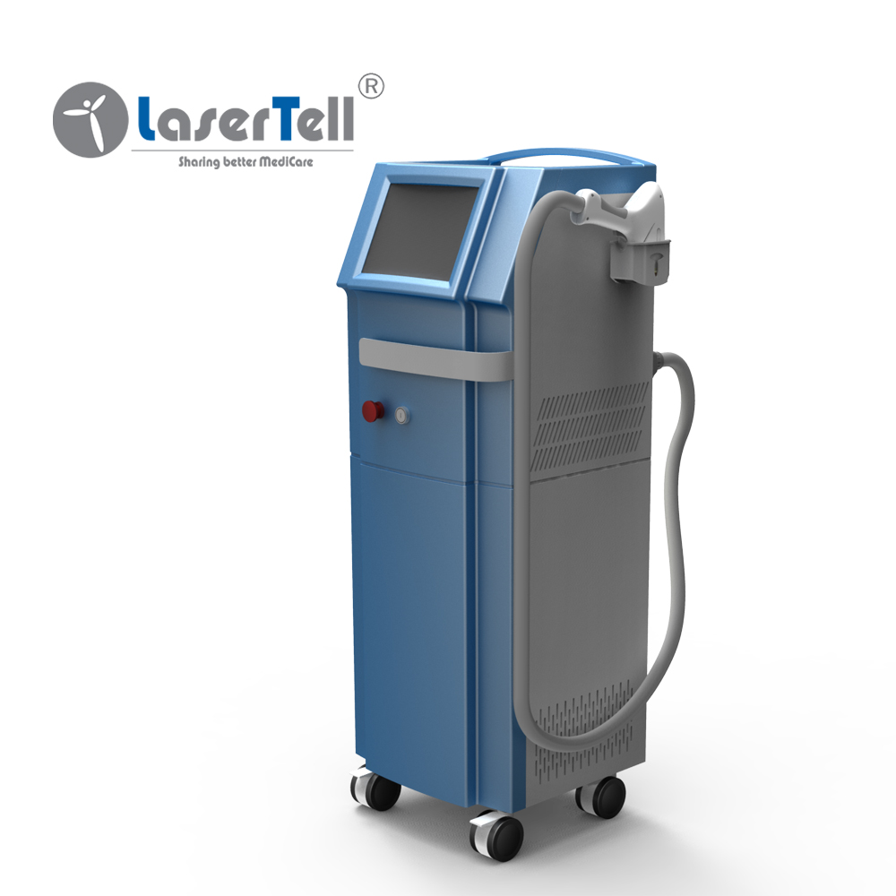 Hot sale medical grade permanent painless alexandrite 808 diode laser hair removal machine