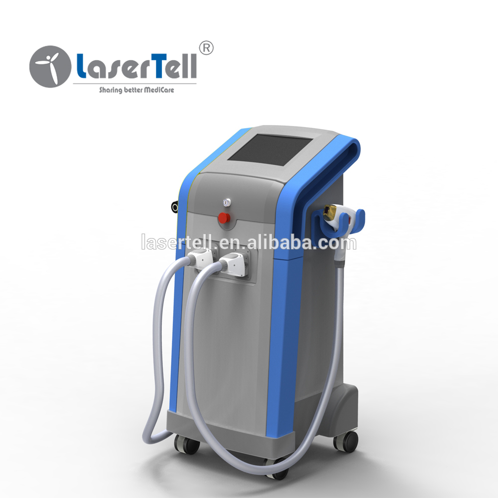 new design 3 combined wavelengths diode laser hair removal factory price hot sale AlexMED