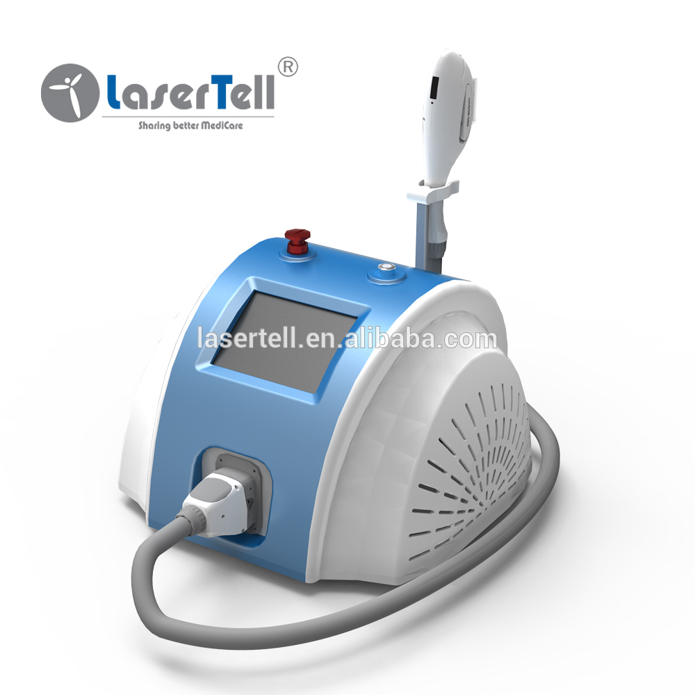 SPT and FCA technology portable hair removal IPL and SHR E-light/ipl laser hair removal machine for sale
