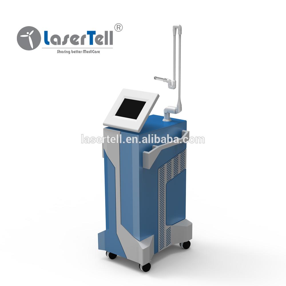 medical CE co2 fractional red blood removal laser
