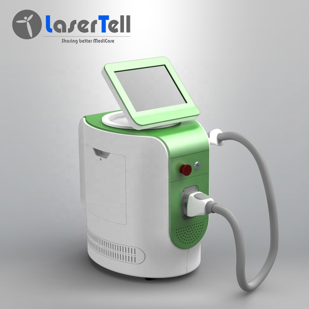 Trio 755+808+1064nm diode laser hair remval desktop design by lasertell made in China designed in UK