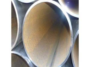Straight welded pipe
