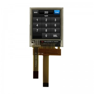 1.45″ 128X128 small size TFT square with Resistive touch panel, SPI ST7735S