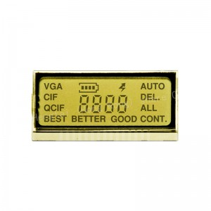 Custom 7 segment lcd display without controller zebra paper interface