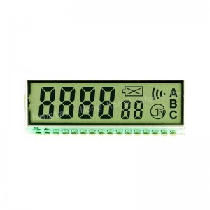 Trending hot products 2020 4 Digit Custom LCD Tn LCD for fuel dispenser