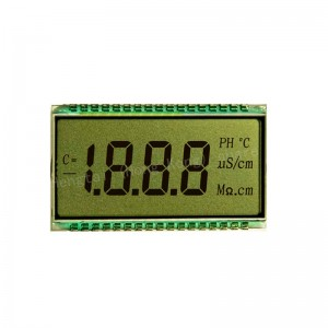 0Factory Manufacture Custom Monochrome 7 Segment 4, 5, 6,12 ,20,22 Digits TN LCD Display