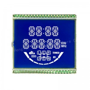 customized TNHTNSTNFSTNBTN digital lcd display