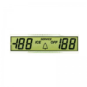 custom TN digital lcd display for blood pressure gauge