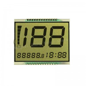number segment display for motorcycle lcd digital speedometer
