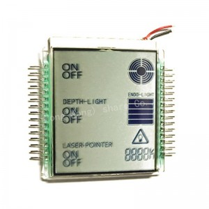 Super wide Temperature 7 segment LCD Display Controller ML1001-1U A detailed introduction