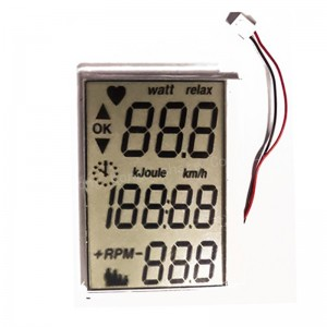 custom TN digital lcd display for blood pressure gauge with LED Backlight A detailed introduction